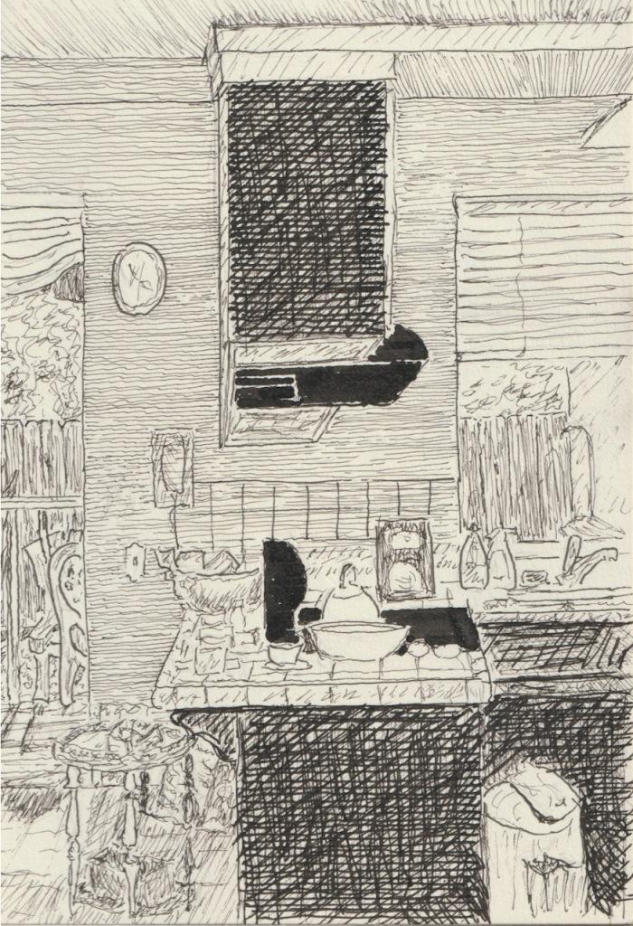 Vintage Sketch Book Series: Kitchen (August 2008)