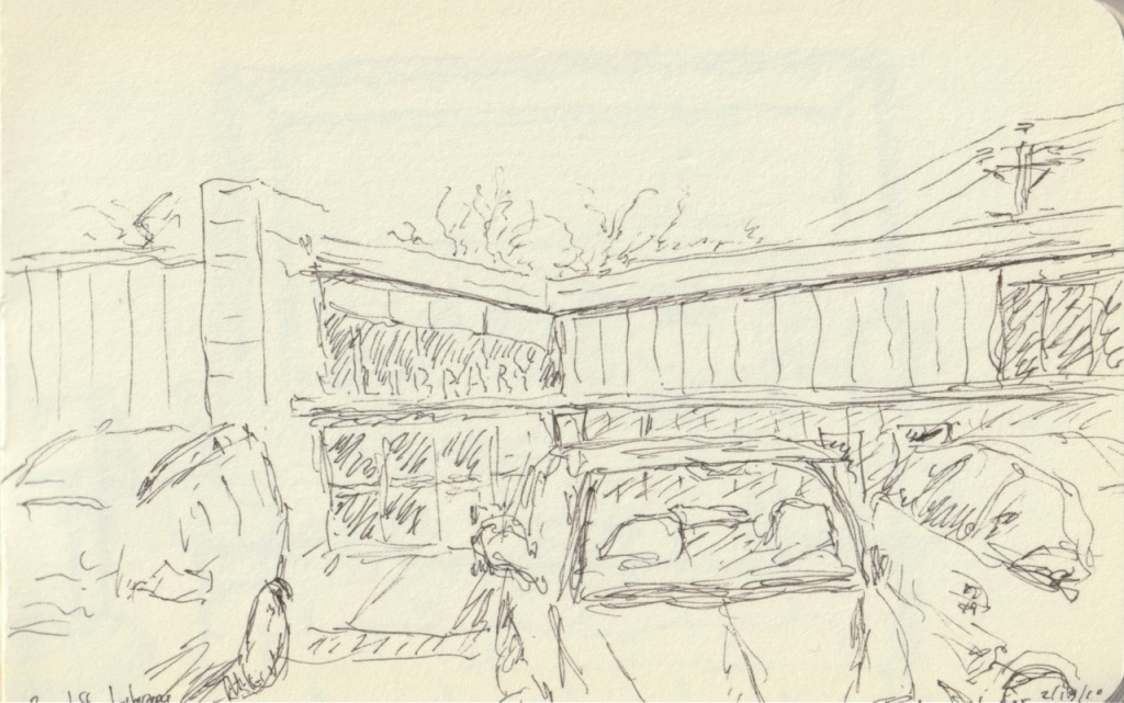 Vintage Sketch Book Series: Library (February 2010)