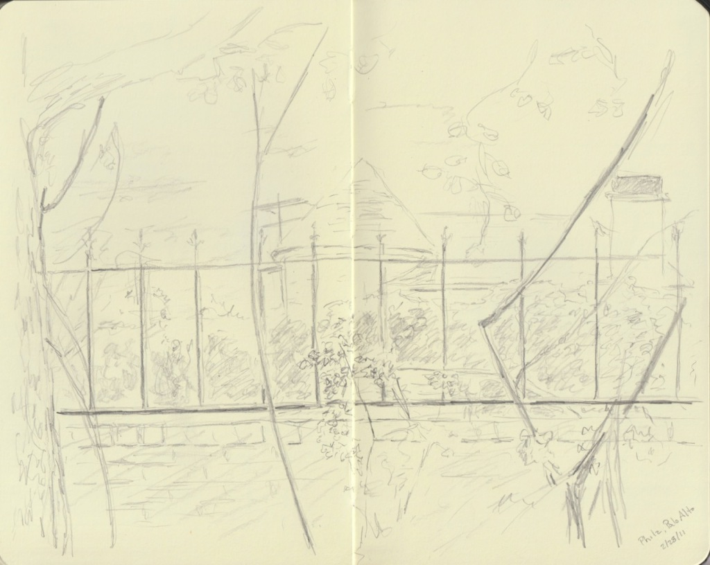 Vintage Sketch Book Series: Palo Alto (February 2011)