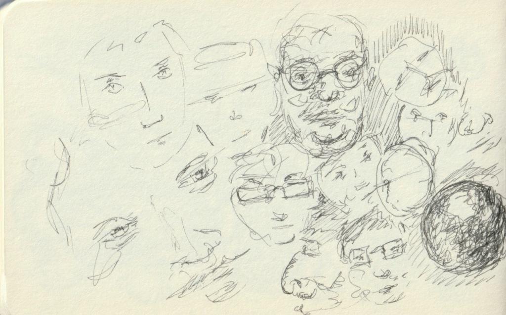 Vintage Sketch Book Series: Pen and Ink - Face Practice (December 2010)