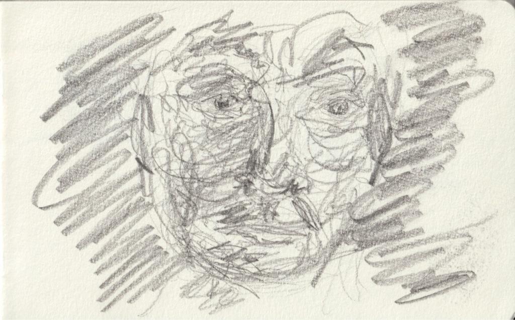 Vintage Sketch Book Series: Scribble Face (September 2011)