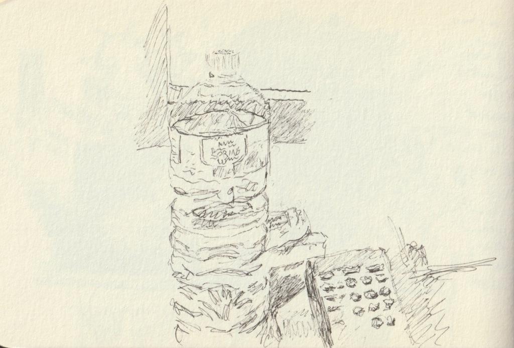 Vintage Sketch Book Series: Water in Bottle (August 2010)