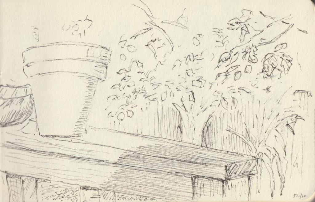 Vintage Sketch Book Series: Wood Grain and Shadows (May 2010)