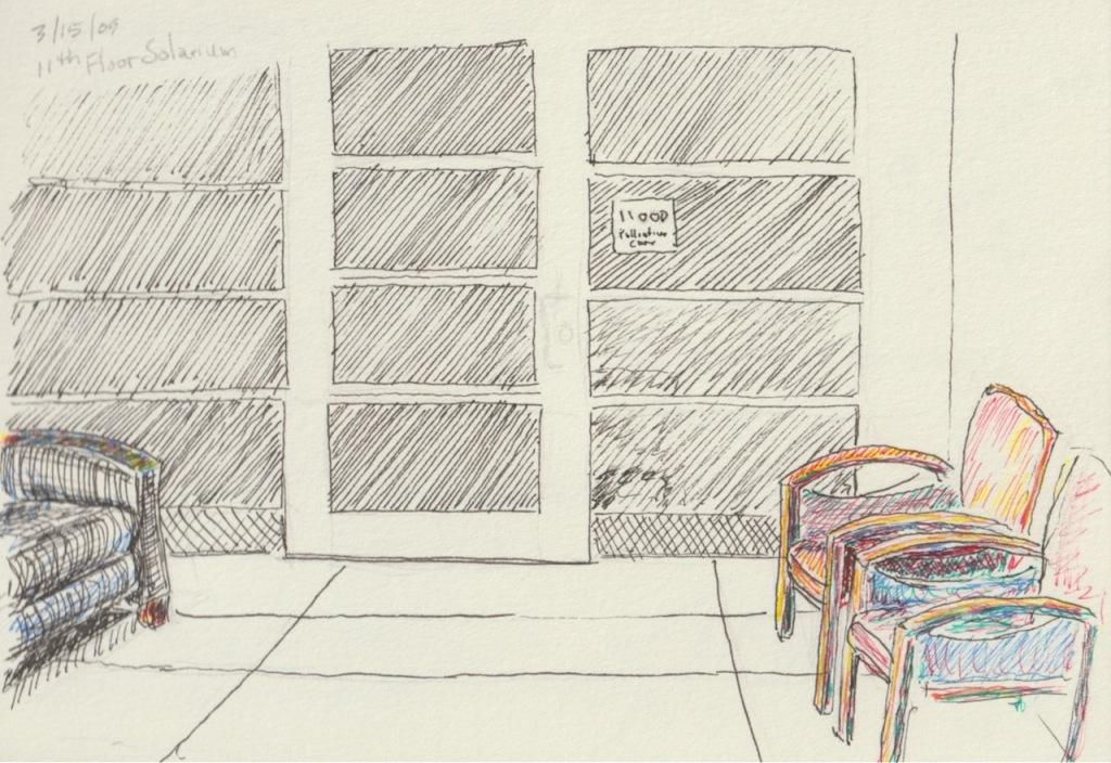 Vintage Sketch Series: Solarium (March 2009)
