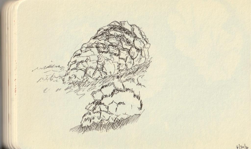 Vintage Sketch Book Series: Cone Texture (June 2010)