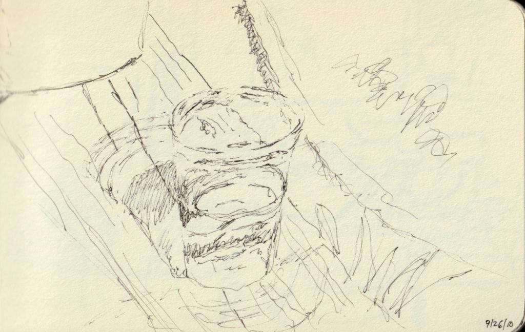 Vintage Sketch Book Series: Cup of Water (September 2010)