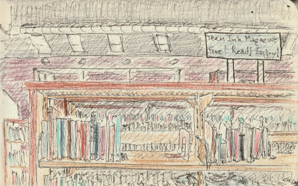 Vintage Sketch Book Series: Library (January 2010)