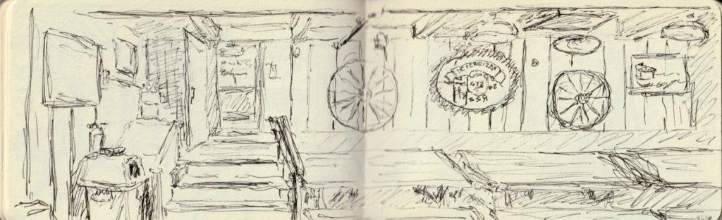 Vintage Sketch Book Series: Meeting Place (September 2010)