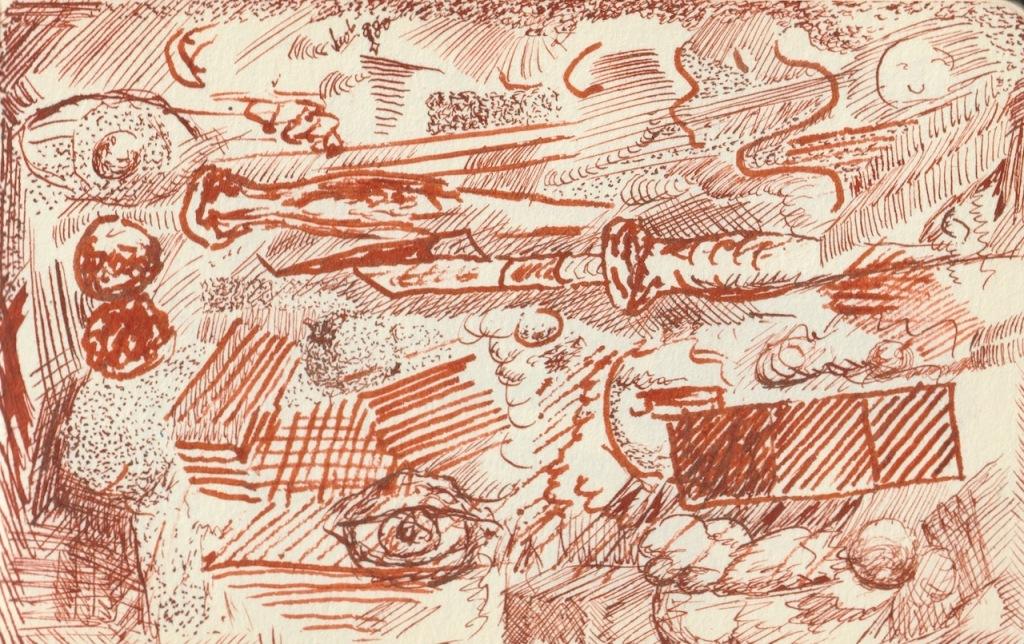 Vintage Sketch Book Series: Sepia Scratchings (June 2010)