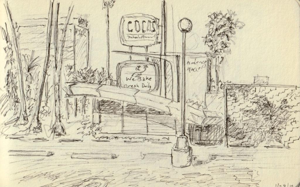 Vintage Sketch Book Series: SoCal (January 2010)