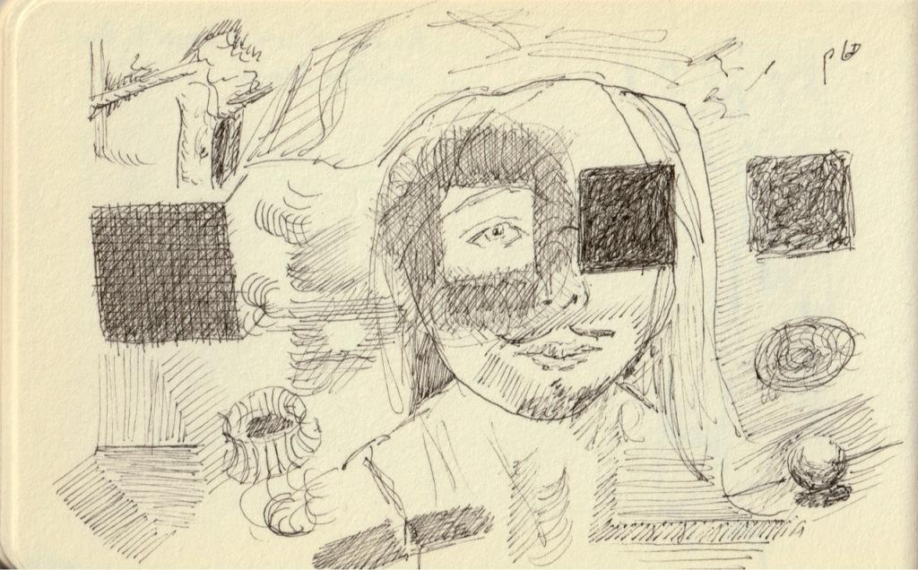 Vintage Sketch Book Series: Tonal Musings (June 2010)